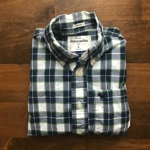 Abercrombie | Plaid Shirt